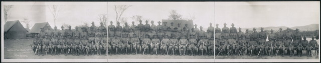Commanding officers, 1st, 2nd & 3rd Regiments, U.S. Marines, Deer Point Camp, Guantanamo Bay, Cuba, April 26, 1911