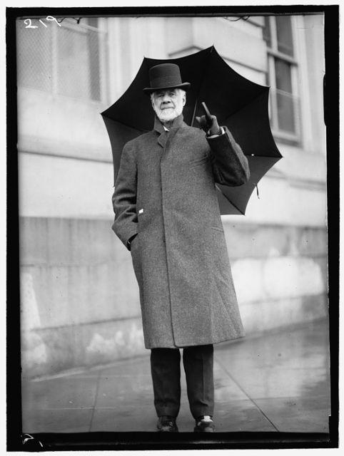 DAVIS, HENRY GASSAWAY. SENATOR FORM WEST VIRGINIA, 1871-1883; CHAIRMAN, PAN AMERICAN RAILWAY COMMISSION, 1901-1916