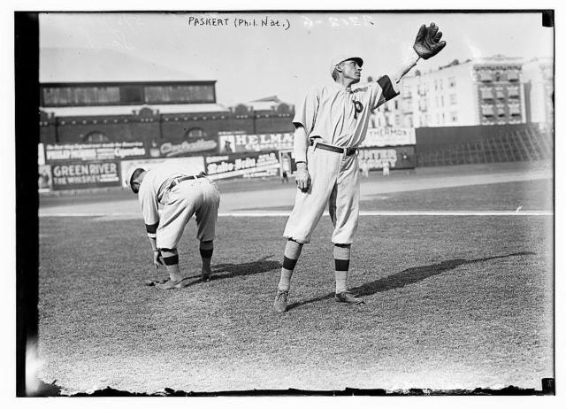 [Dode Paskert, Philadelphia, NL (baseball)]