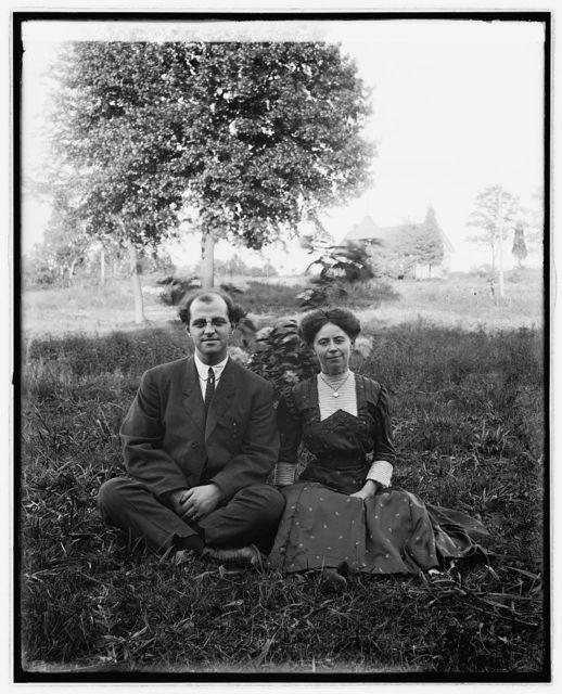Earl Ritter & wife, Vienna, 1911