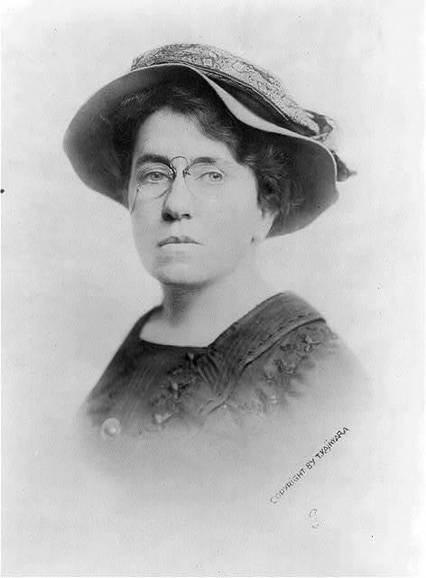 Poet Emma Goldman