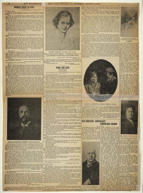 Enclosure: The Lyons Republican Ninetieth Anniversary Issue