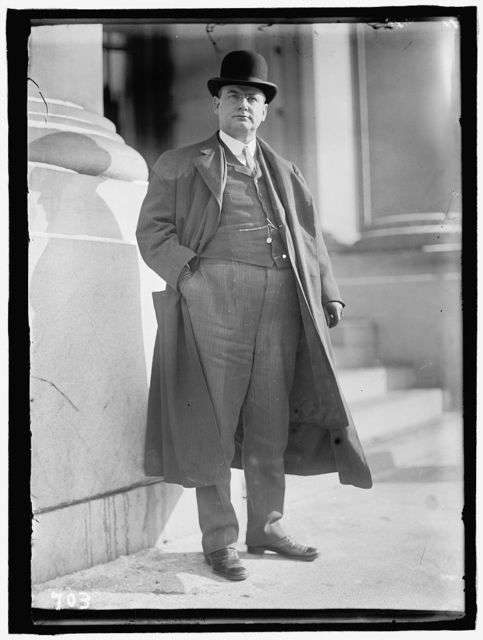 FOLK, JOSEPH WINGATE. GOVERNOR OF MISSOURI, 1905-1909; SOLICITOR OF STATE DEPARTMENT, 1913