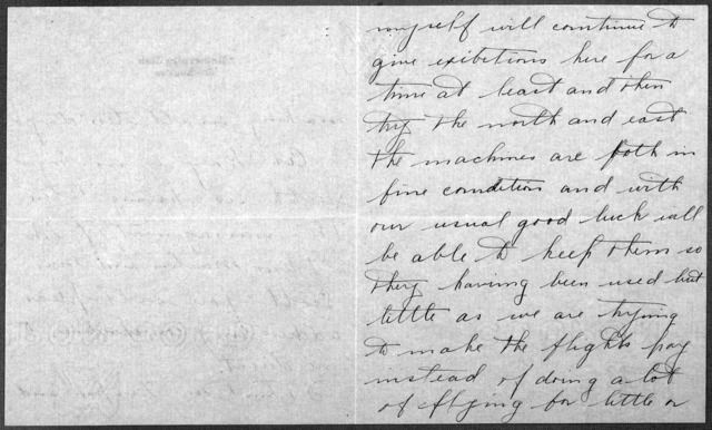 General Correspondence:  Parmelee, Philip O., 1911-1912, 1929