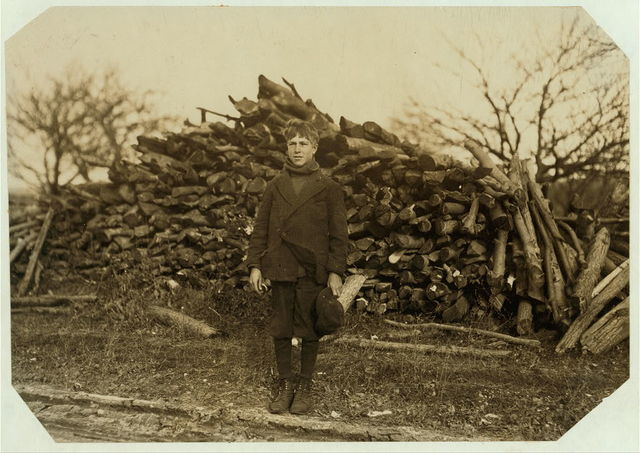 George Barcome, Stony Hill, Ludlow. Been band boy three months in #10 mill.  Location: Ludlow, Massachusetts.