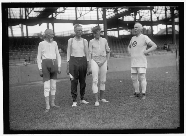 [Group of men, Griffith Stadium, Washington, D.C.]