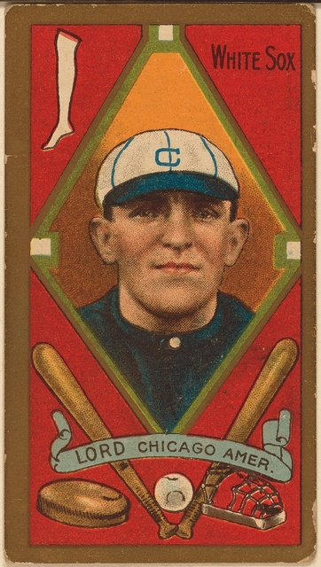 [Harry D. Lord, Chicago White Sox, baseball card portrait]