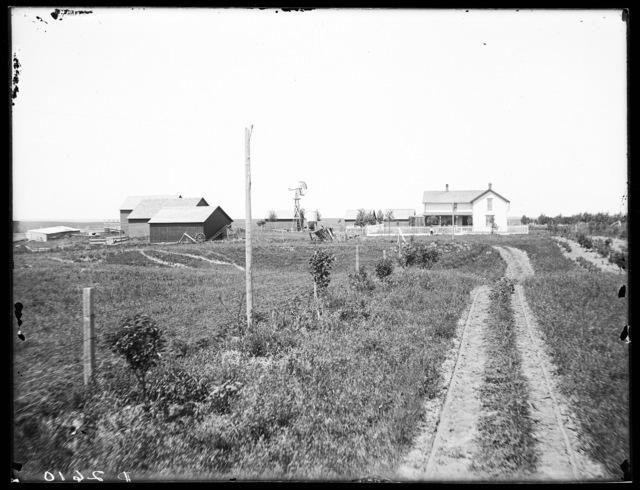 House and barn, Kearney, Nebraska