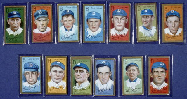[Irvin K. Wilhelm, Brooklyn Superbas, baseball card portrait]