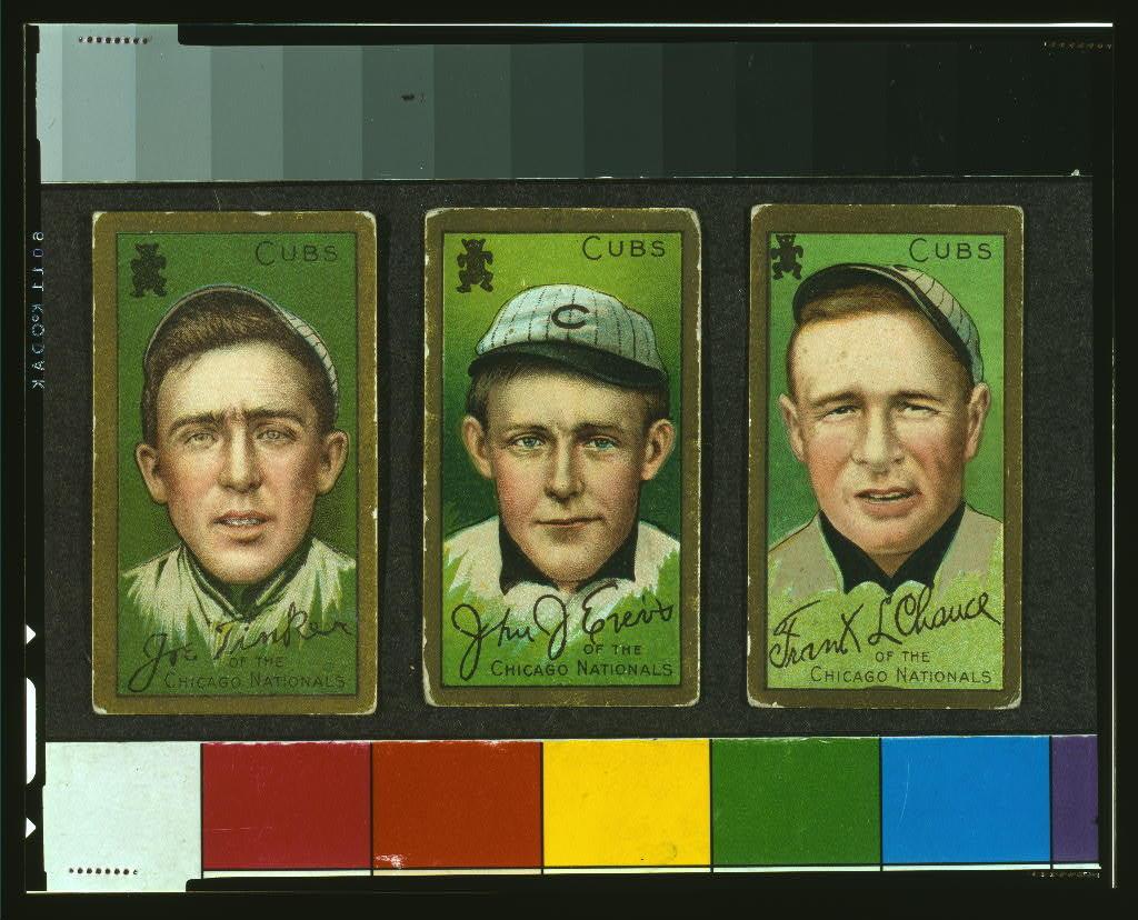 [Joe Tinker, Chicago Cubs, baseball card portrait]