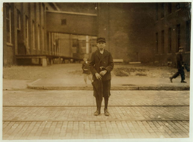 Joseph Crapo, 47 Fruit St. Works in Eclipse Mills. Apparently 13 years old.  Location: North Adams, Massachusetts.