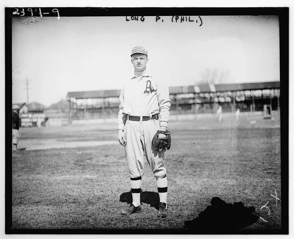 "Lester ""Lep"" Long, Philadelphia AL (baseball)"