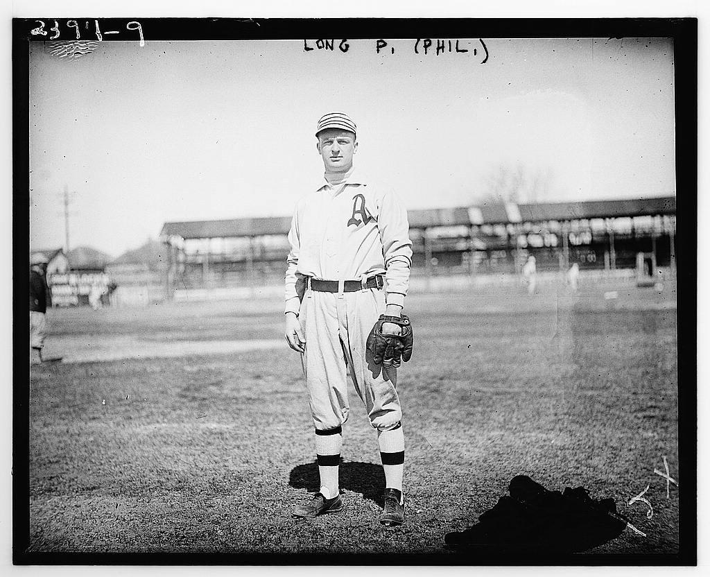 "[Lester ""Lep"" Long, Philadelphia AL (baseball)]"
