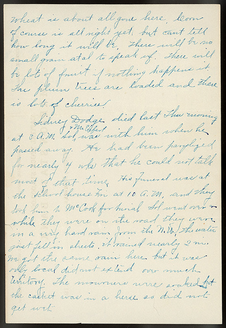 Letter from Estella Stilgebouer to Ella Roesch, June 21, 1911