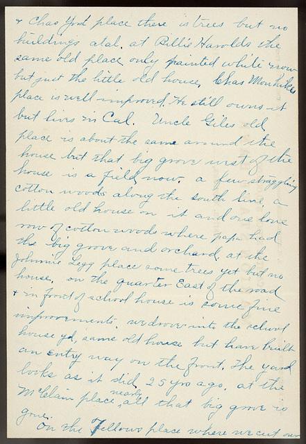 Letter from Estella Stilgebouer to Ella Roesch, June 21, 1911