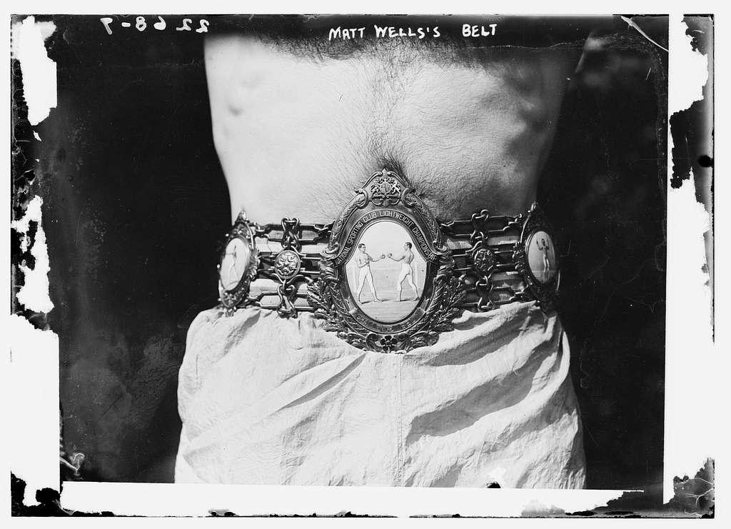 Matt Wells belt