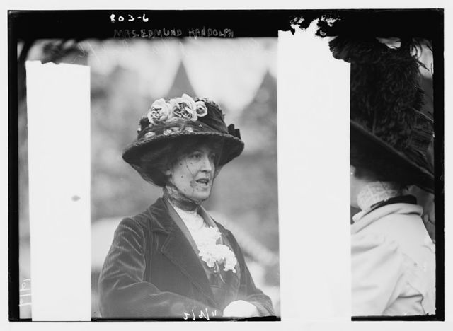 Mrs. Edmund Randolph, Hope Farm Fair