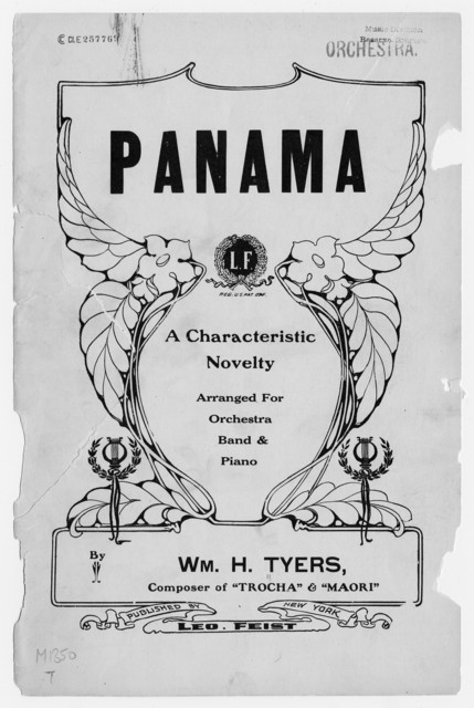 Panama : A characteristic novelty