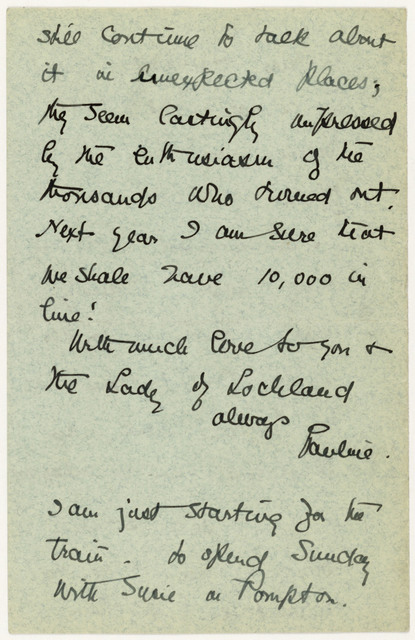 Pauline Goldmark to Anne Fitzhugh Miller