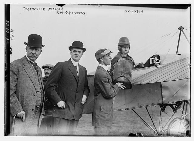 Postmaster Morgan, P.M.G. Hitchcock, & Ovington