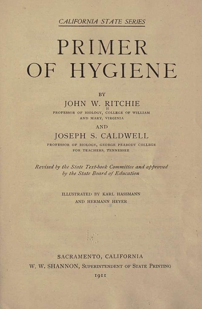 Primer of hygiene,
