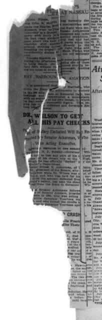 ...reasonably Dangerous Speed... [New York Herald, 10 July 1911]
