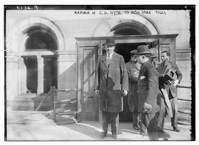 Return of C.H. Hyde to New York