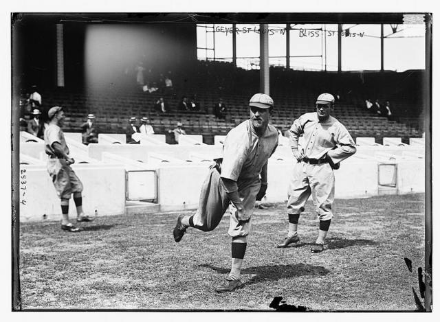 [Rube Geyer & Jack Bliss, St. Louis NL (baseball)]