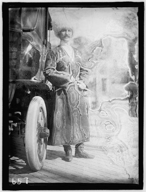RUSSIAN EMBASSY. COSSACK FOOTMAN, OF EMBASSY STAFF