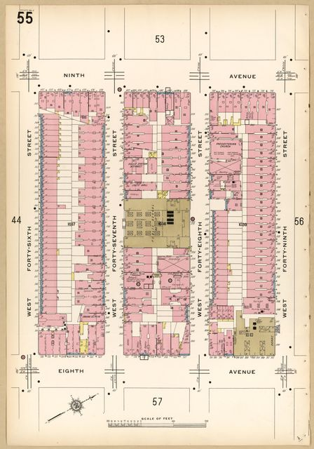 Sanborn Fire Insurance Map from New York, Bronx, Kings, Queens, Richmond, New York.