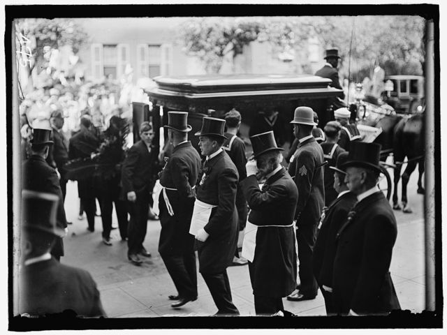 SCHLEY, WINFIELD SCOTT, REAR ADMIRAL, U.S.N. FUNERAL, ST. JOHN'S CHURCH. MASONS