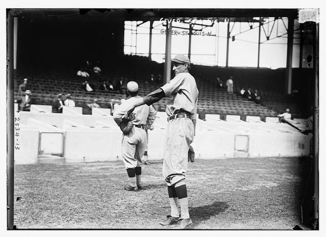 [Slim Sallee & Jack Bliss?, St. Louis NL (baseball)]