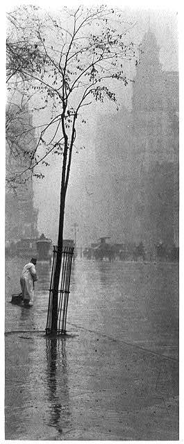 Spring showers, New York (1900)