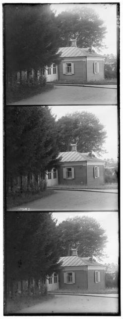 Storozhka v Spaso-Borodinskom monastyri︠e︡, gdi︠e︡ zhila osnovatelʹnit︠s︡a monastyri︠a︡ Tuchkova. Borodino