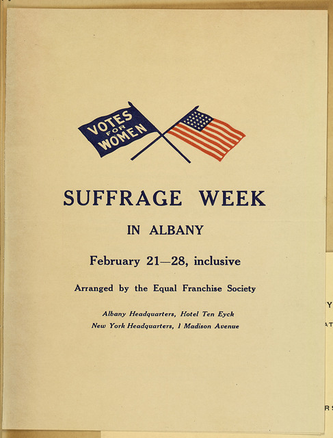Suffrage Week in Albany, February 21-28