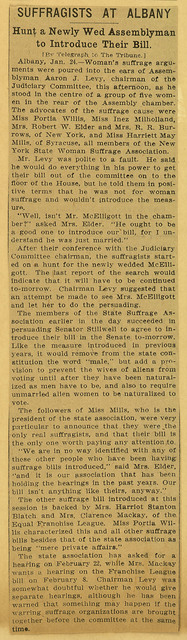 Suffragists at Albany