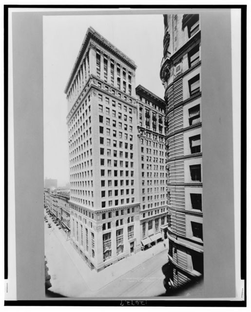 The East River Savings Institution Bldg., B'way & Reade St.