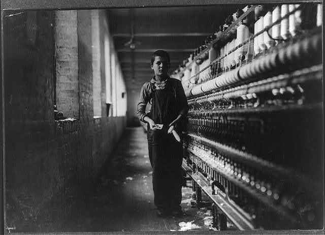 Tony Soccha, 65 Exchange Pl. (young). A bobbin boy in #7 room: been working there for a year. See 2641.  Location: Chicopee, Massachusetts.
