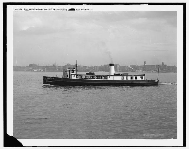 U.S. Marine Postal Service, Detroit River, Str. Bielman