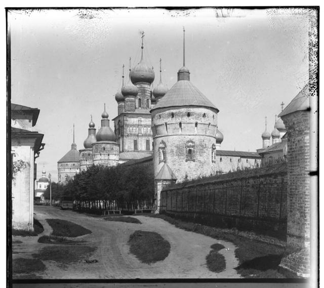 Vid na Kremlʹ s berega ozera Nero. Rostov Velikīĭ