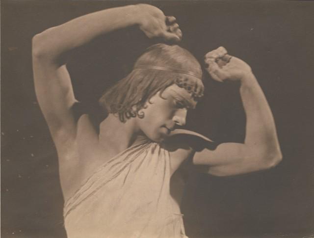 Photograph of Nijinsky in Narcisse, 1911