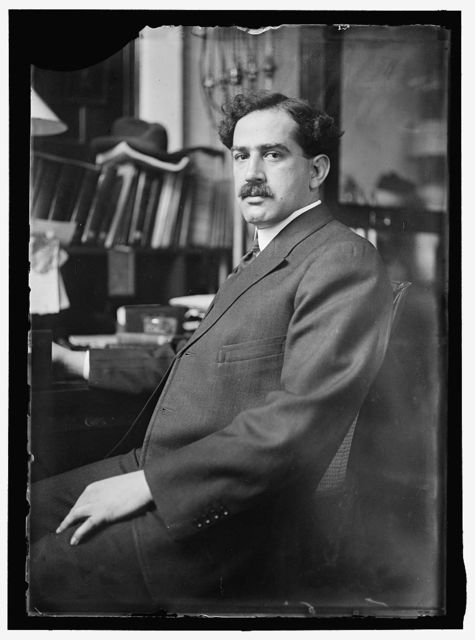 ALSBERG, DR. C.L. CHIEF, BUREAU OF CHEMISTRY, 1912-1921