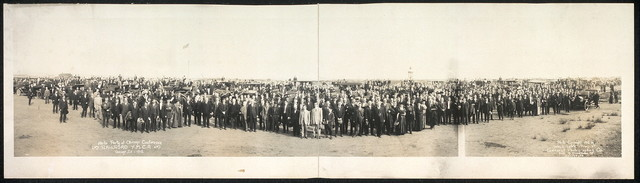 Auto Party at Chicago Conference, Railroad Y.M.C.A., Chicago, Ill., 1912