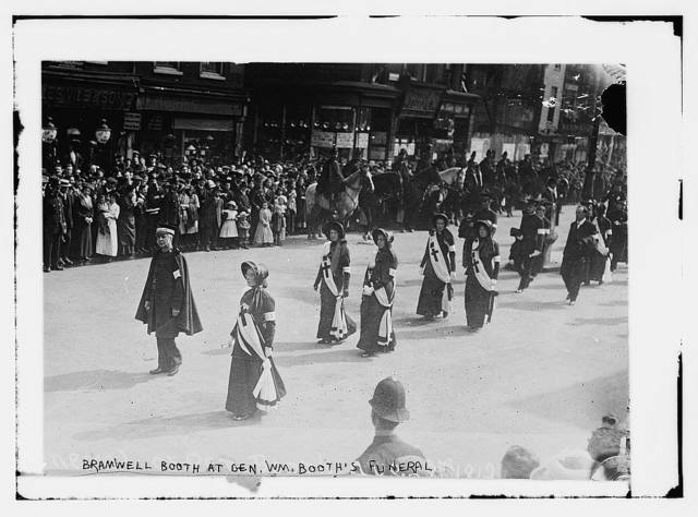 Bramwell Booth at Gen. Wm. Booth's Funeral