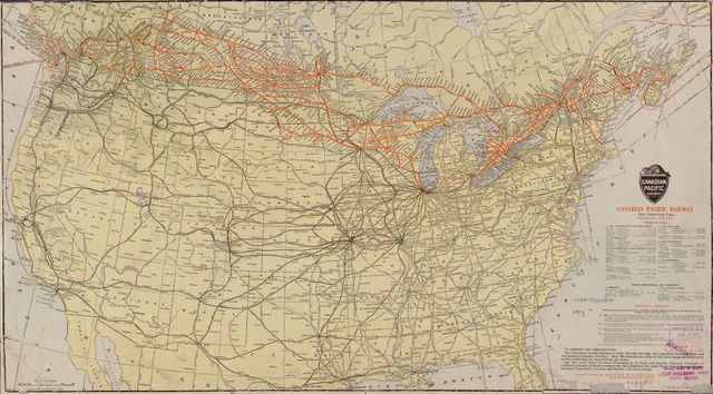 Canadian Pacific Railway and connecting lines  /