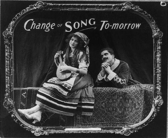 Change of song to-morrow