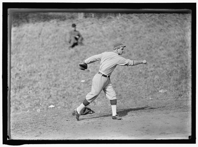 [Chick Gandil, Washington AL, at University of Virginia, Charlottesville (baseball)]