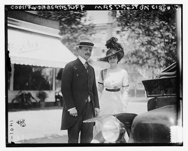 Count von Bernstoff & Mrs. Preston Gibson