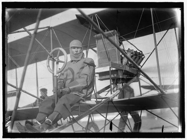 CURTISS AIRPLANE. McCURDY, J.A.D., AVIATOR