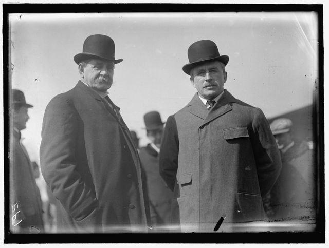 CURTISS AIRPLANE. TESTS OF CURTISS PLANE FOR ARMY. SECRETARY OF WAR DICKINSON AND GEN. WOOD